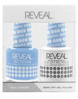 Reveal Duo Gel and Nail Lacquer Set - 069 Bahama Breeze