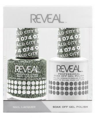 Reveal Duo Gel and Nail Lacquer Set - 074 Emerald City