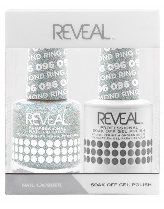 Reveal Duo Gel and Nail Lacquer Set - 096 Diamond Ring