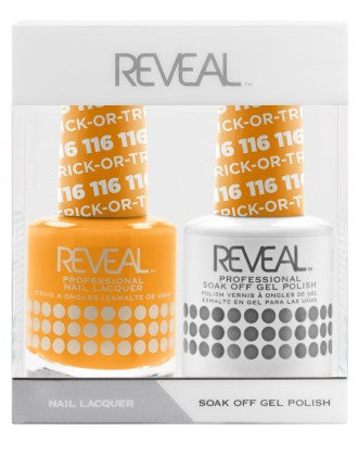 Reveal Duo Gel and Nail Lacquer Set - 116 Trick Or Treat
