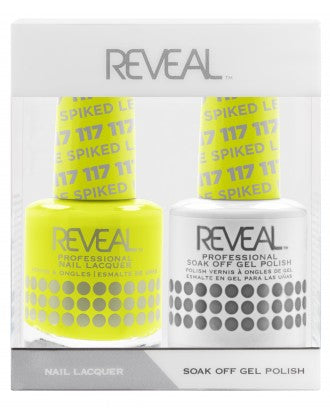 Reveal Duo Gel and Nail Lacquer Set - 117 Spiked Lemonade