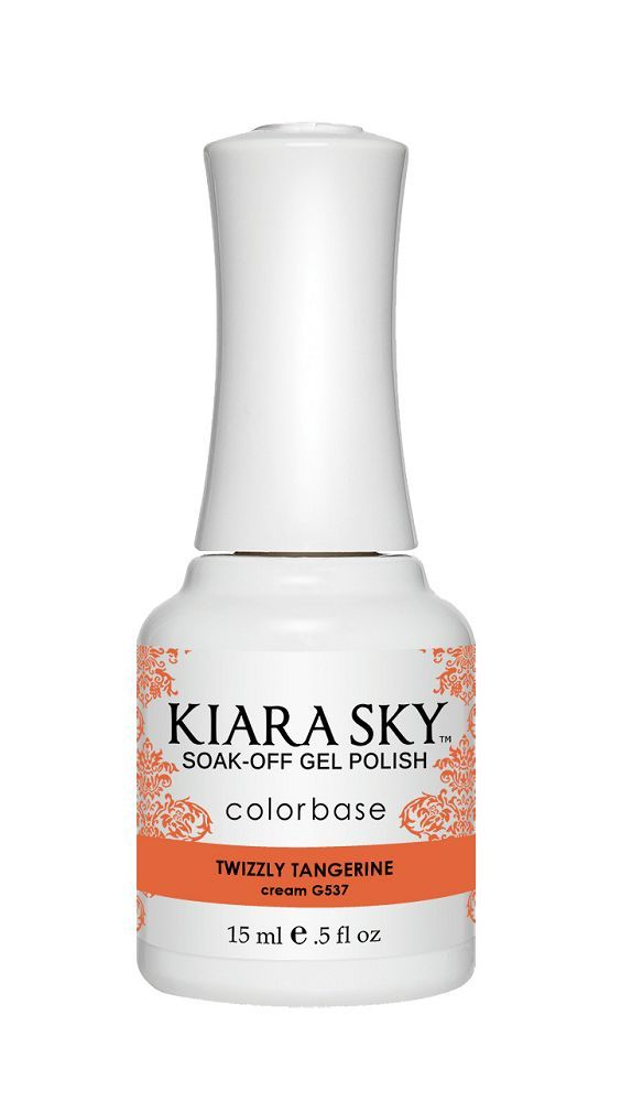 KIARA SKY GEL + MATCHING LACQUER (DUO) - G542 Twizzly Tangerine