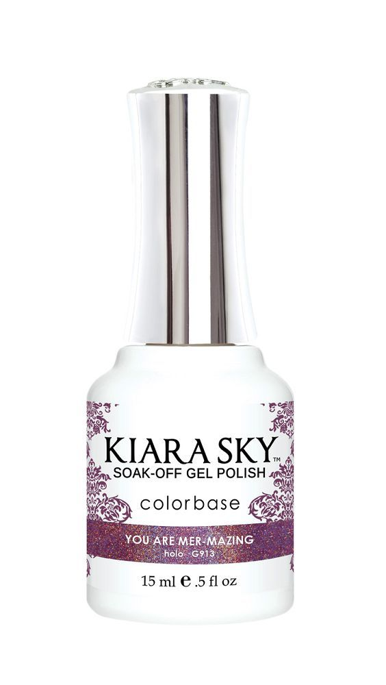 Kiara Sky Holo Mermaid Gel Polish - G913 You Are Mer-Mazing!