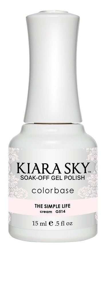 Kiara Sky Gel Polish - G514 The Simple Life