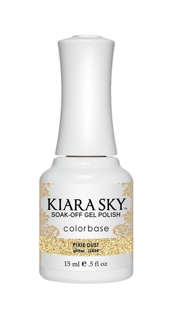 KIARA SKY GEL + MATCHING LACQUER (DUO) - G554 Pixie Dust