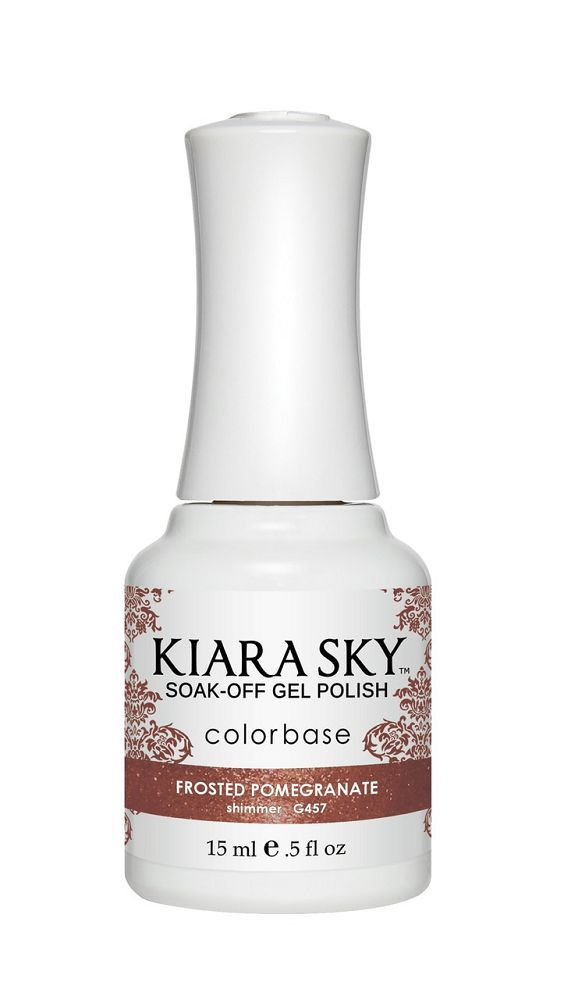 KIARA SKY GEL + MATCHING LACQUER (DUO) - G457 Frosted Pomegranate