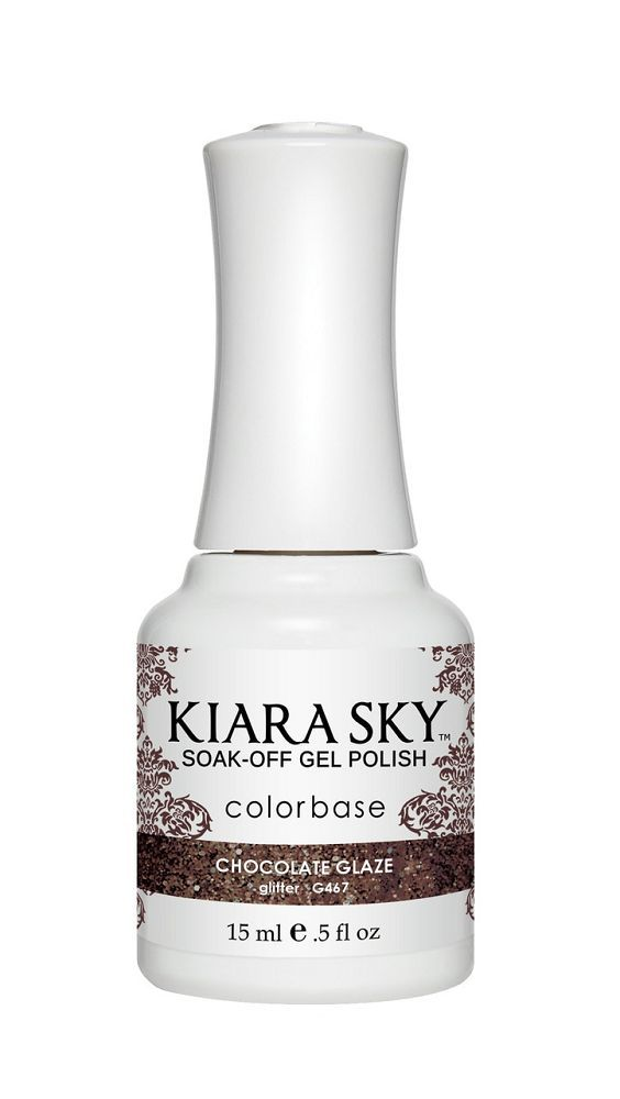 KIARA SKY GEL + MATCHING LACQUER (DUO) - G467 Chocolate Glaze