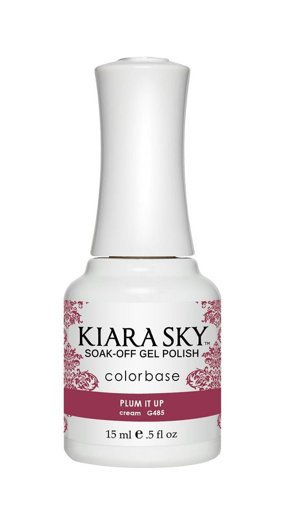 KIARA SKY GEL + MATCHING LACQUER (DUO) - G485 Plum It Up