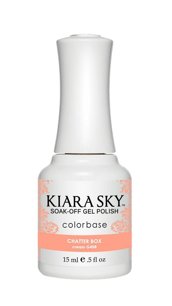 KIARA SKY GEL + MATCHING LACQUER (DUO) - G408 Chatterbox