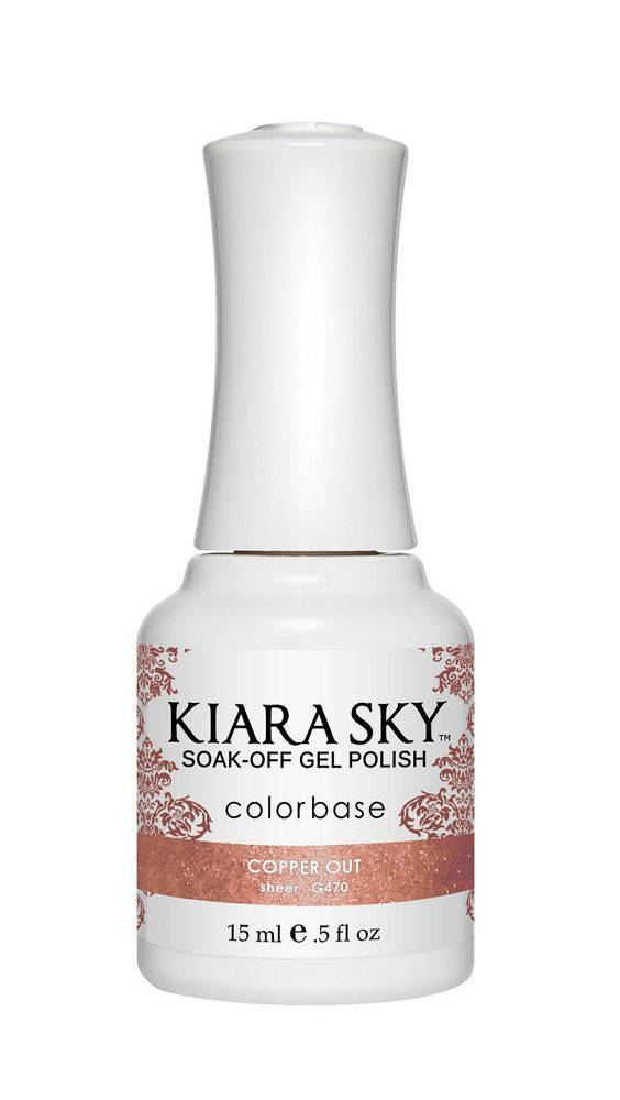 KIARA SKY GEL + MATCHING LACQUER (DUO) - G470 Copper Out