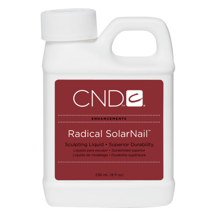 CND Radical SolarNail Sculpting Liquid, 8 fl oz