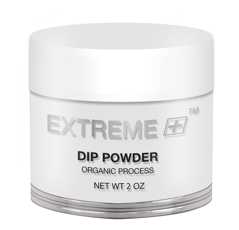 EXTREME+ Dipping Powder Organic - Pink & White: Crystal Clear