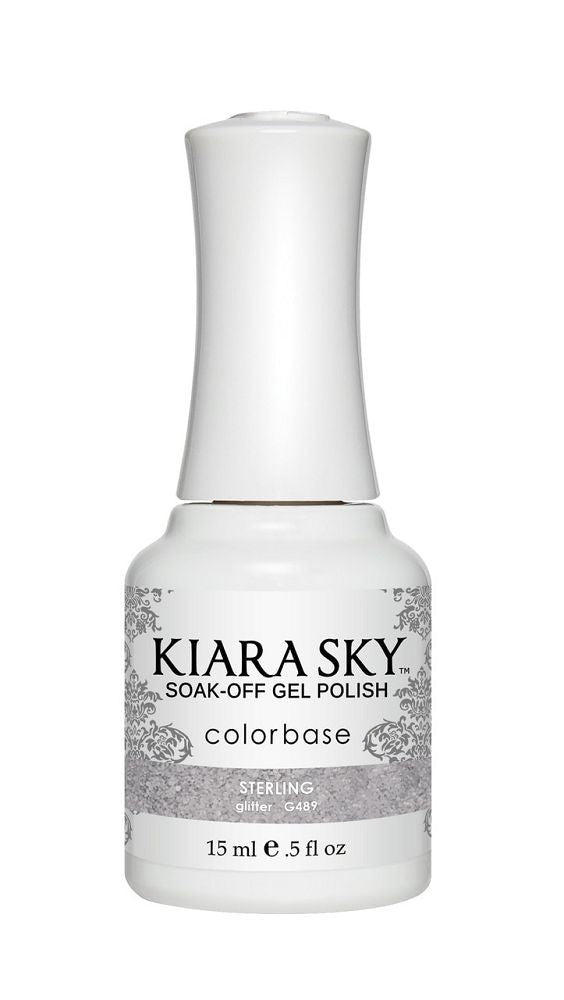 Kiara Sky Gel Polish - G489 Sterling
