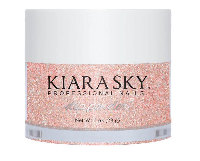 Kiara Sky Dipping Powder - D496 Pinking Of Sparkle