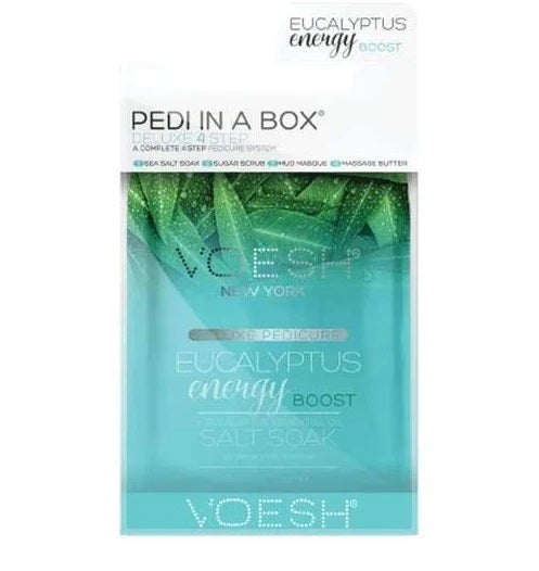 VOESH Deluxe Pedicure 4 Step - Eucalyptus Energy Boost