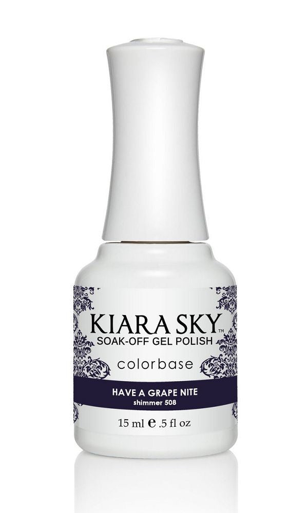 KIARA SKY GEL + MATCHING LACQUER (DUO) - G508 Have A Grape Nite