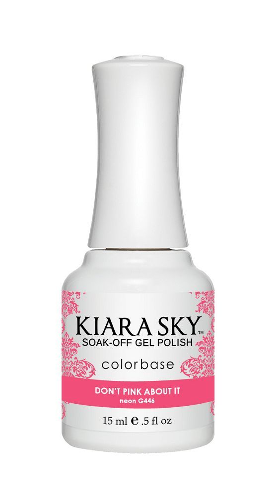 KIARA SKY GEL + MATCHING LACQUER (DUO) - G446 Don'T Pink About It