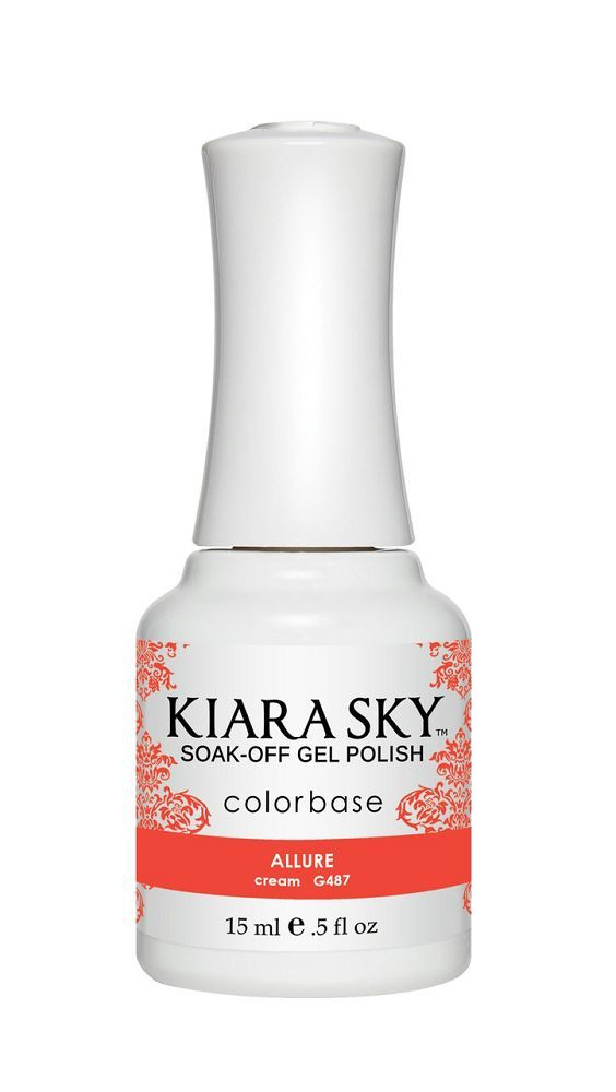 KIARA SKY GEL + MATCHING LACQUER (DUO) - G487 Allure