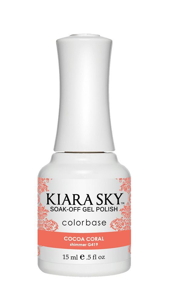 KIARA SKY GEL + MATCHING LACQUER (DUO) - G419 Cocoa Coral