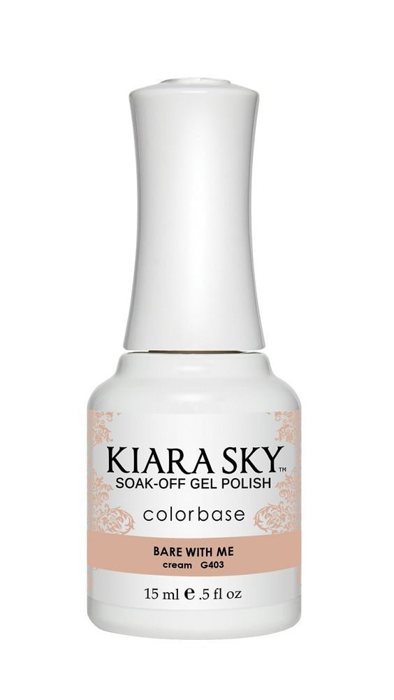 KIARA SKY GEL + MATCHING LACQUER (DUO) - G403 Bare With Me