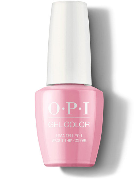 OPI Gel - P30 Lima Tell You About This Color!