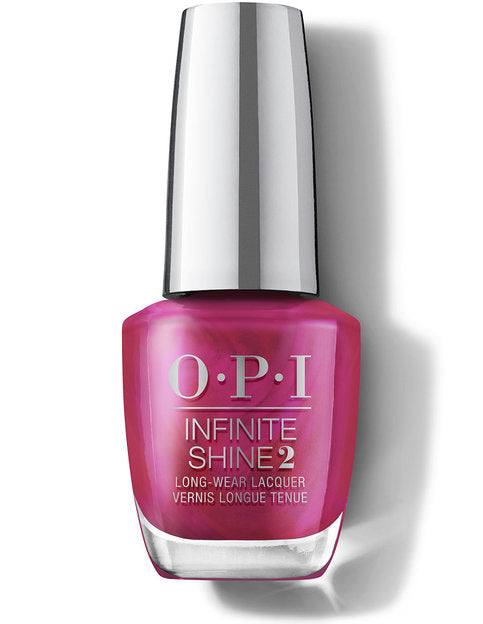 OPI Infinite Shine Polish HOLIDAY 2020 SHINE BRIGHT - HR M42 Merry in Cranberry
