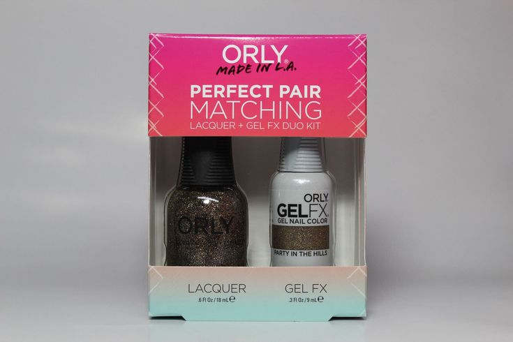 Orly Gel Matching Set - Party In The Hills