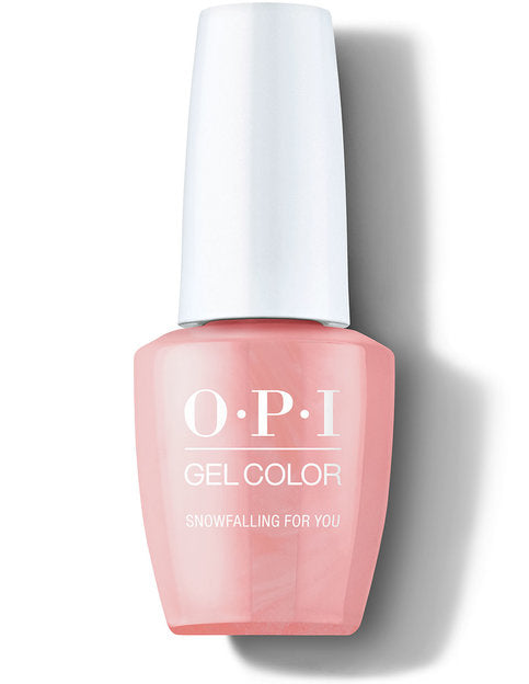 OPI Gel Color HOLIDAY 2020 SHINE BRIGHT - HP M02 Snowfalling For You