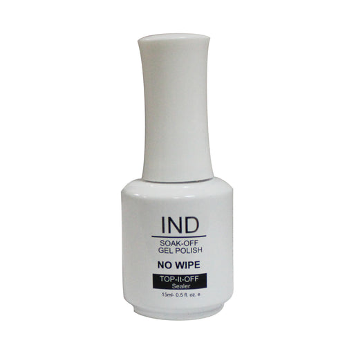 IND Top It Off Non-Wipe Gel 8oz( Special Sale: Buy 1 IND Top It Off Non-Wipe Gel 8oz Get 4 IND Top It Off Non- Wipe Gel 0.5oz)