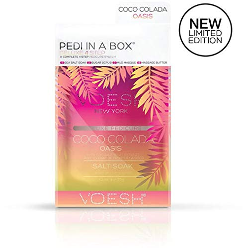 VOESH Deluxe Pedicure 4 Step - Coco Colada Oasis