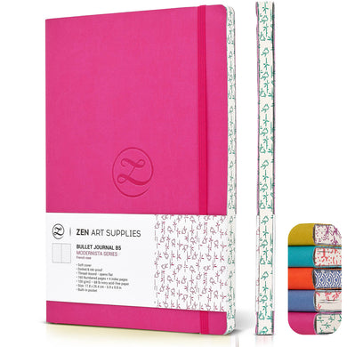"B5 Faux Leather Journal | 7x10"", 154 Pages, 120 gsm 