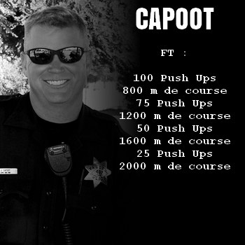 WOD Bodyweight Crossfit Capoot
