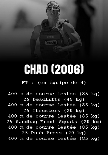 WOD Team Crossfit Chad