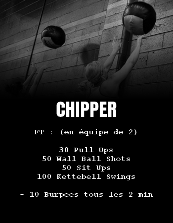 WOD Team Crossfit Chipper