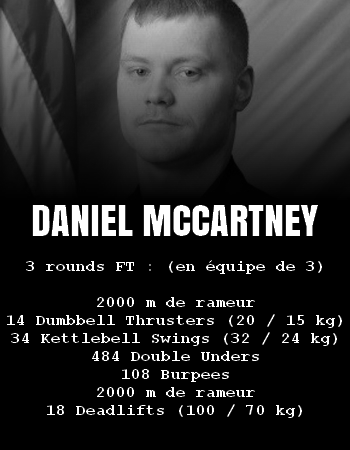WOD Team Crossfit Daniel McCartney