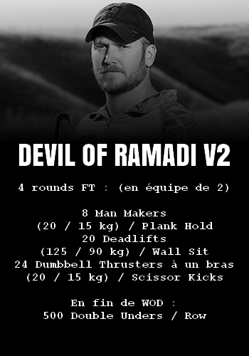 WOD Team Crossfit Devil of Ramadi V2