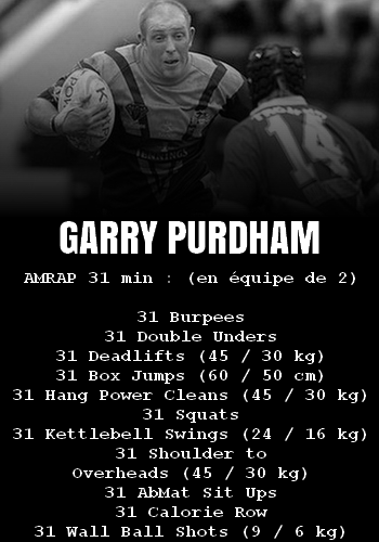 WOD Team Crossfit Garry Purdham