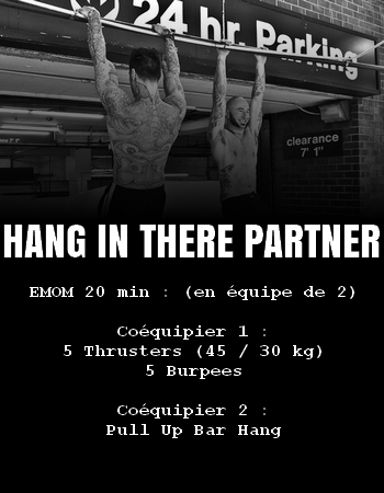 WOD Team Crossfit Hanh in There Partner
