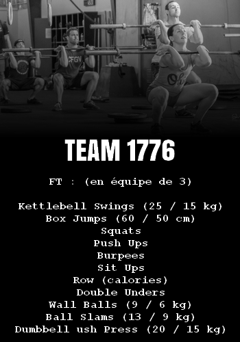 WOD Team Crossfit Team 1776