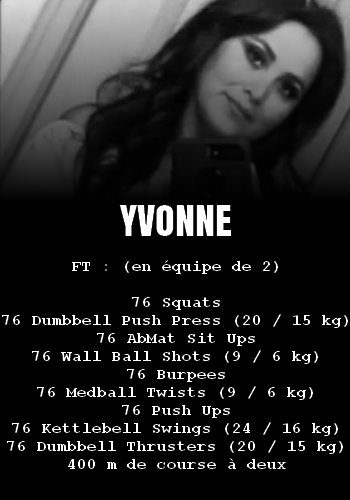 WOD Team Crossfit Yvonne