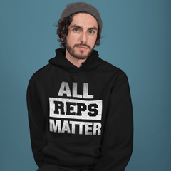 ALL REPS MATTER - Hoodie - Unisexe