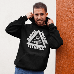 LE TIERCÉ EXERSE - Bacon, Coffee & Fitness - Hoodie - Unisexe