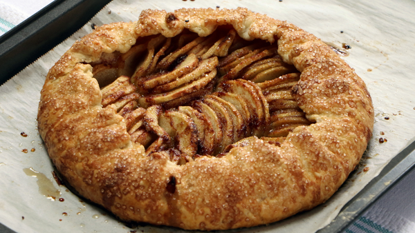 Easy As Galette Apple Pie