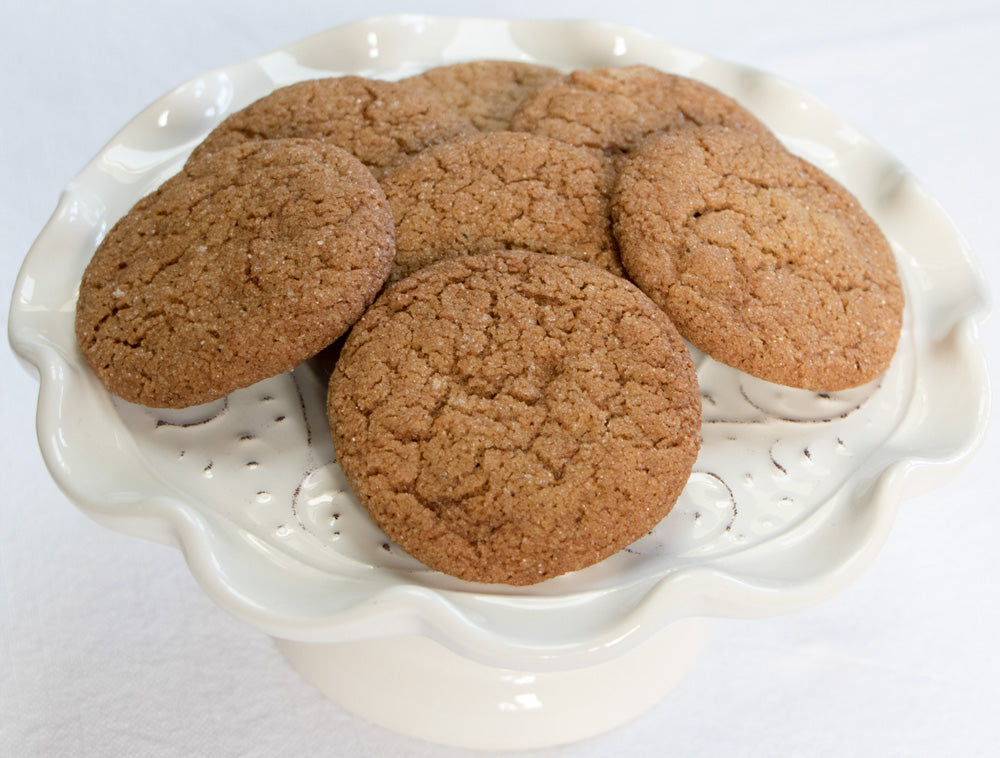 Almost-Holiday Soft Ginger Cookies - Ani & Fabi: Canada's first gourmet baking kits