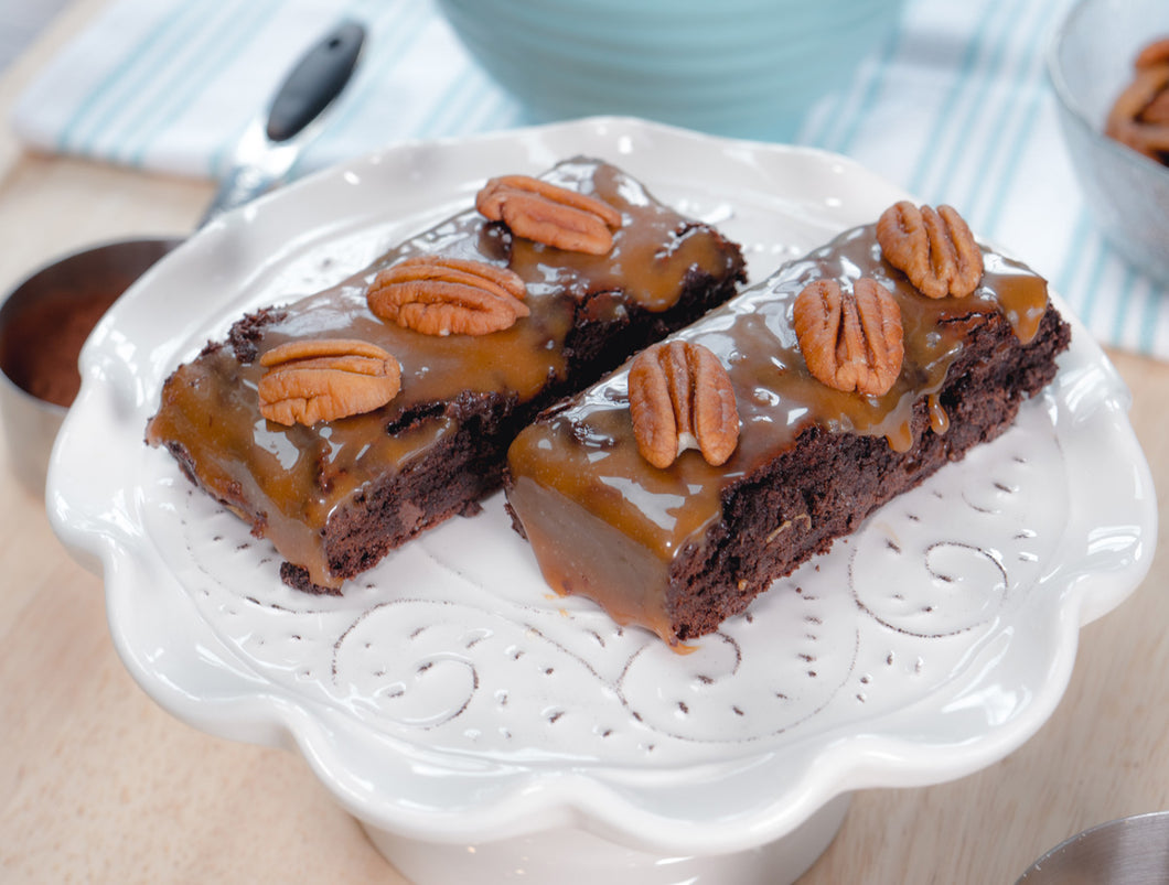 Gluten free recipe, brownies, baking recipe, chocolate dessert, easy desserts, pre-measured