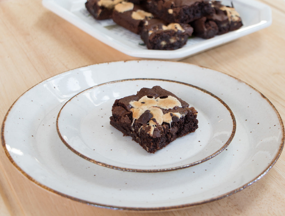 Twix S'mores Brownie Squares - Ani & Fabi: Canada's first gourmet baking kits