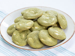 Matcha White Chocolate Cookies - Ani & Fabi Baking Kits