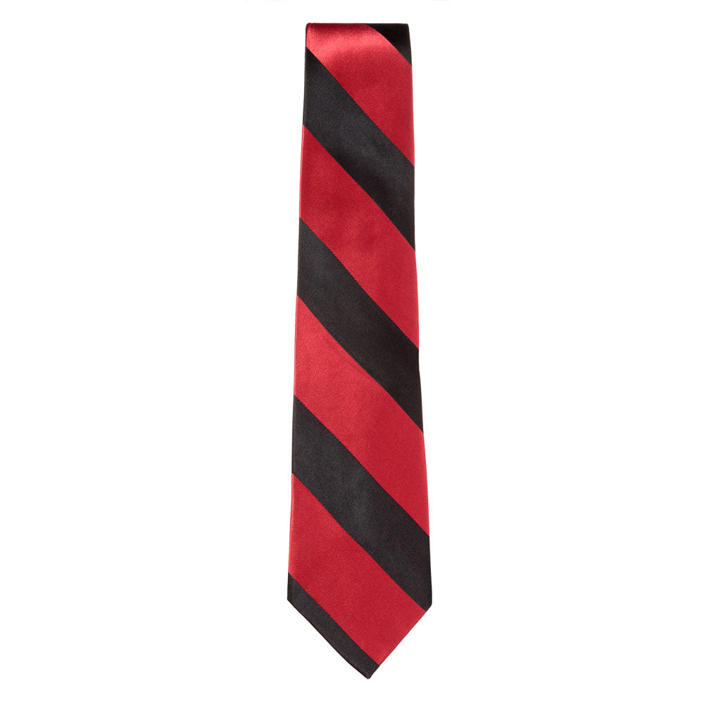 Red / Black Silk Tie