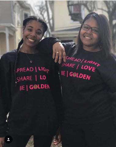 Be Golden Sweatshirt