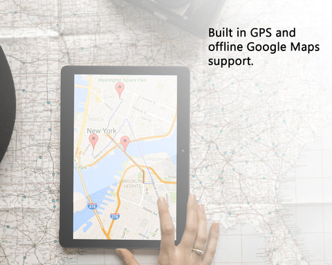 Picture depicting built in GPS Navigation